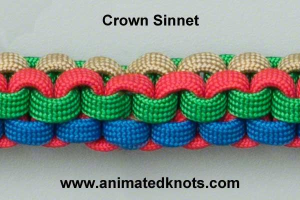 Tutorial on Crown Sinnet Knot Tying (and other decorative knots for crafting)Animal Tutorials, Crowns Knots, Decor Knots, Animal Knots, Knotty Stuff, Animal Image, Knots Tutorials, Sinnet Knots, Knots Ties