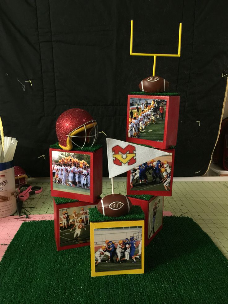 Football Banquet Centerpieces