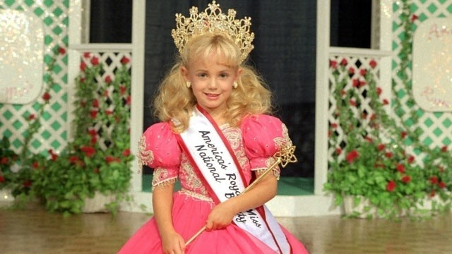 Rest in Peace JonBenet Ramsey, the slain 6-year-old beauty pageant queen whose was found dead in 1996.