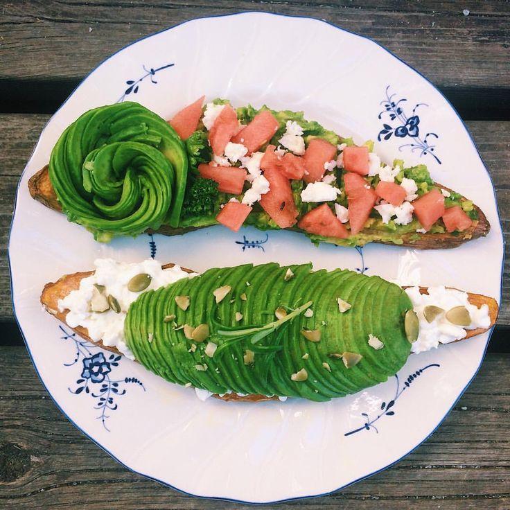"""64 gilla-markeringar, 5 kommentarer - litfood (@lit_food) på Instagram: """"Avokadomacka med en twist!! 💥🥑 för dig som gillar sötpotatis! Recept från @ebbavonsydow och…"""""""