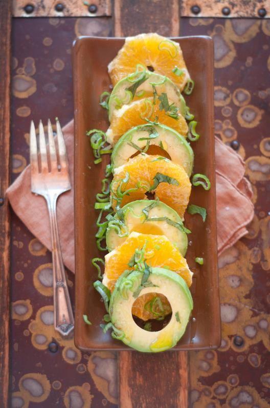Orange Avocado Salad. www.draxe.com #food #recipe #health