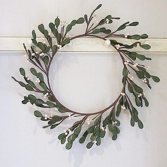 """Well we love a wreath and we're living our mistletoe wreath this season !! Gorgeous hung on a pegrail, fireplace or a internal and external front door!! Online now for you all to see xx🌲xx """"Beautiful Things For Beautiful Homes"""" www.maisonbyemmajane.co.uk #wreath #mistletoewreath #christmas #christmastime #christmasdecor #christmasinterior #wreath #christmasseason #countryhome #countryliving #countryhomesandinteriors #homesandgardens #homestyling #interiorsoftheday #interiors4all #inspohome…"""