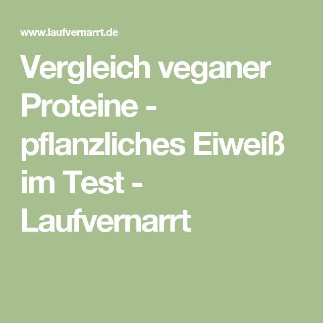 Vergleich veganer Proteine - pflanzliches Eiweiß im Test - Laufvernarrt