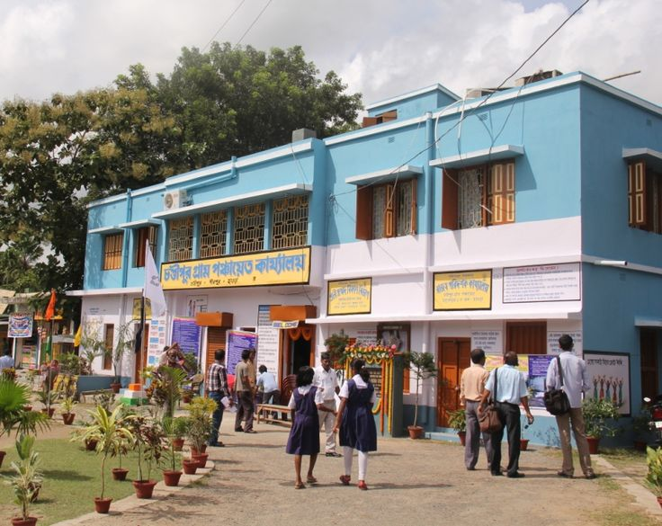 The event venue Chandipur Gram Panchayat office building