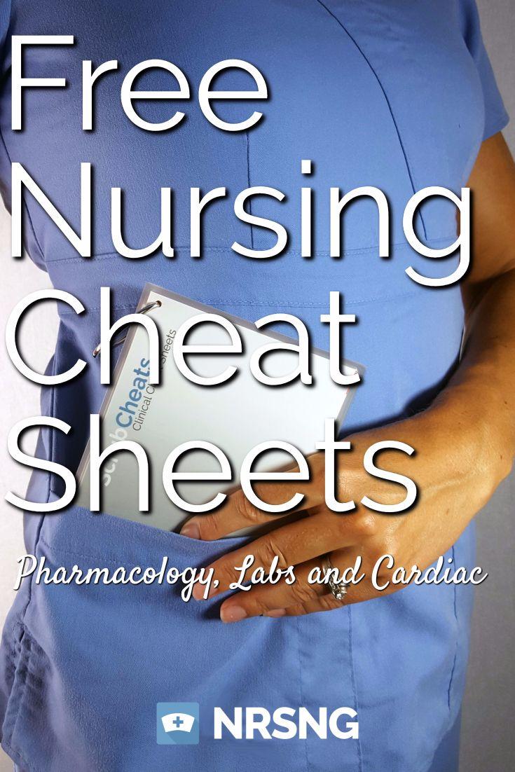Free Nursing Cheat Sheet Downloads 102 best