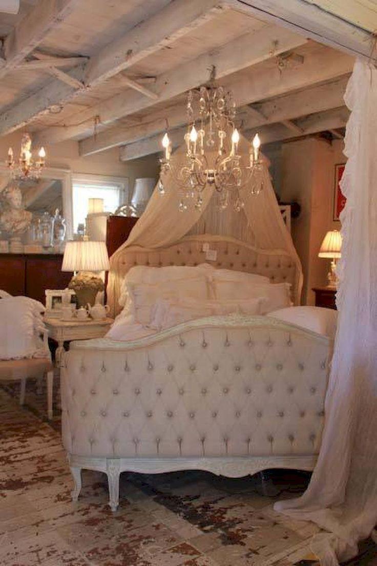 Romantic shabby chic bedroom decor and furniture inspirations (6) #shabbychicbedroomsdecoratingideas