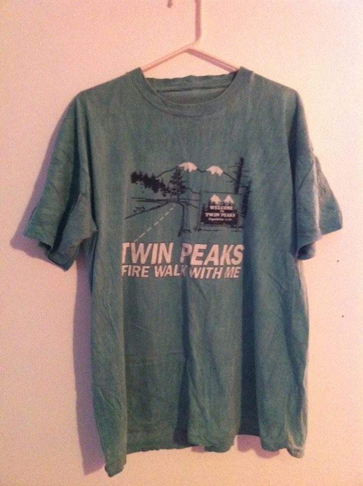 TWIN PEAKS FIRE WALK WITH ME T SHIRT