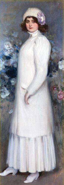 The English Lady, Ramon Casas i Carbó (1866-1932)