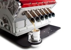 Espresso Veloce Serie Titanio V12 coffee machine | Car Gifts, Motoring Gifts and Merchandise | Gearbox Gifts