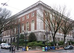 17 MILES of shelves!?  I'm so there!   Central Library (Portland, Oregon).jpg