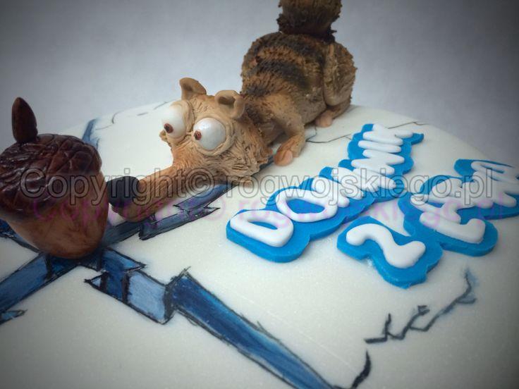 tort epoka lodowcowa, tort ice age, ice age cake, torty artystyczne gdańsk, rogwojskiego.pl, róg wojskiego, torty gdańsk, pomysł na prezent,