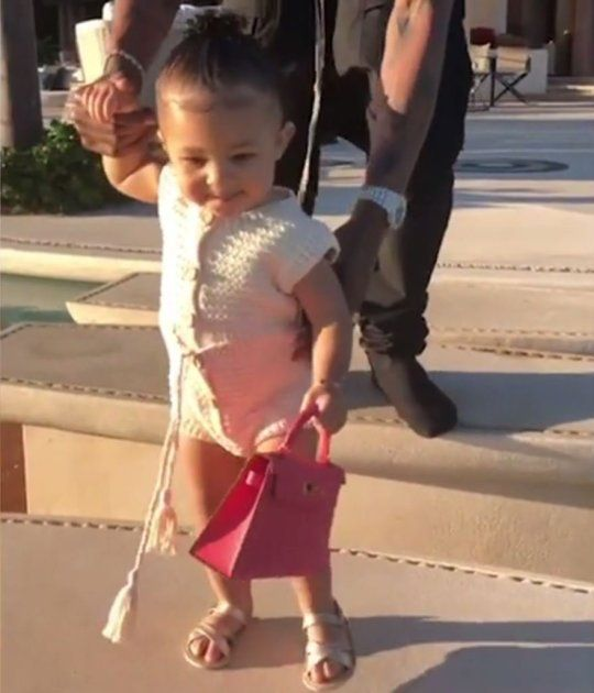 82533e147b7f54 Kylie Jenner's baby Stormi Webster carries expensive Birkin bag better than  any adult   Metro News