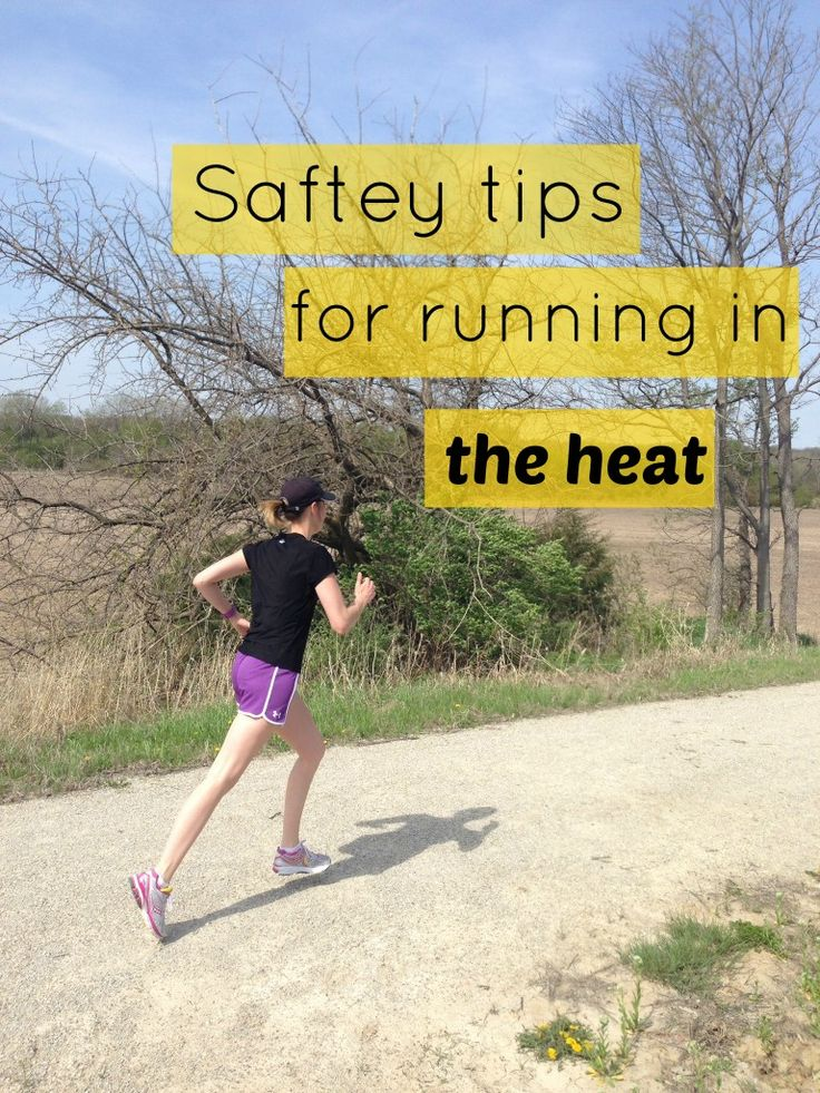 Safety Tips for Running in the Heat