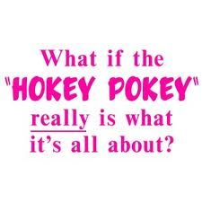 hokey pokey!...it's what it's all about!: Life Quotes, Existentialism Humor, Finding Funnies, Birthday Inspiration, Shirts Color, Hockey Pokey, T Shirts, Hokey Pokey That, Fonts Color