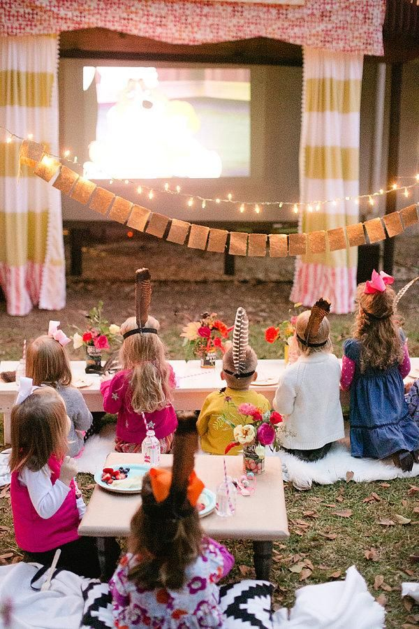 Adorable party idea for the little ones!