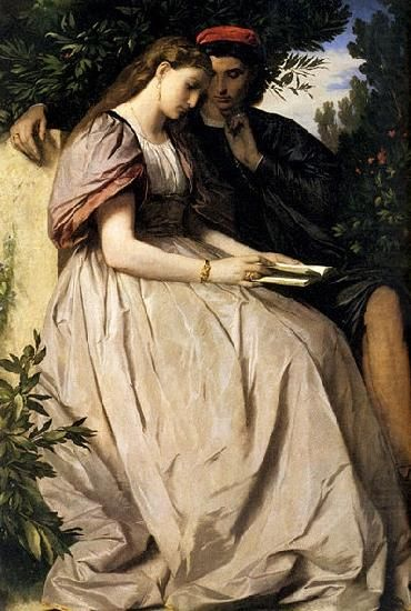 Paolo e Francesca, Anselm Feuerbach