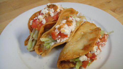 Tacos de papa, the best.