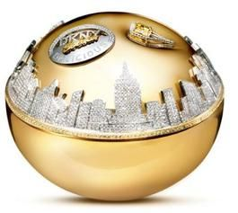 """World's most expensive parfume... It's called """"Golden Delicious"""" and costs $1,000,000. Its spectacular bottle, made by jeweler Martin Katz, is made of gold and contains 2,700 diamonds."""