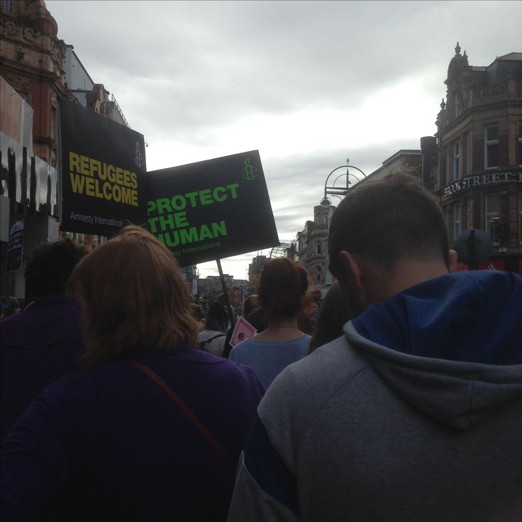 Black Lives Matter Leeds Protest, 2016