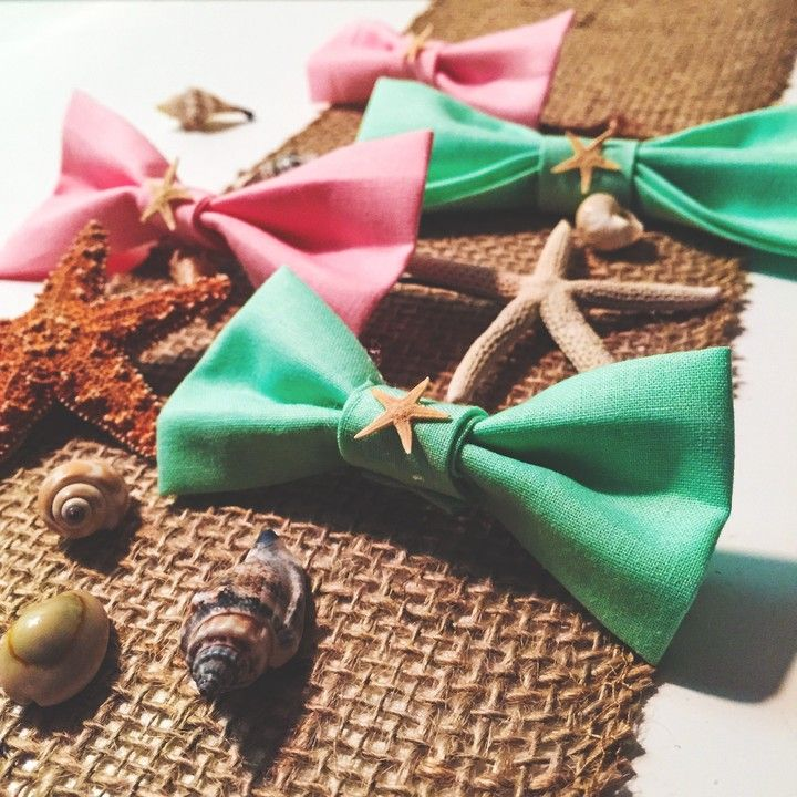 Real Manini Starfish Bow - LARGE from forever Island Girl.