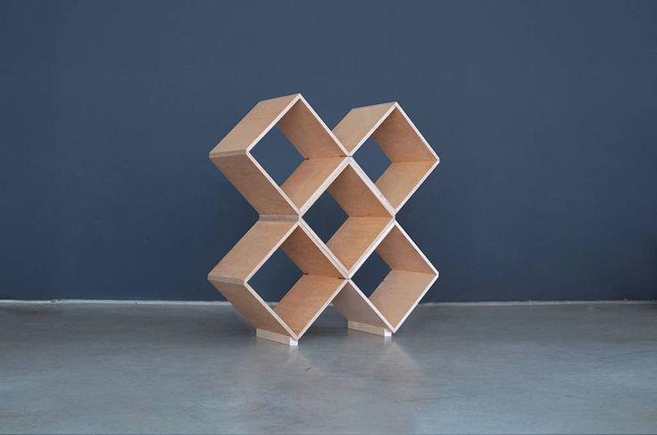 Nomad | No45x Bookcase - 5 plain modules