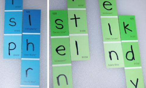word families activity3