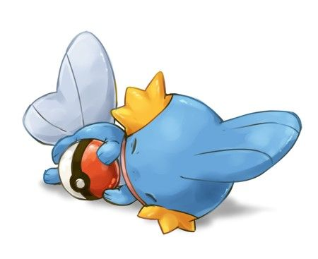 Give me this now Mudkips are so adorable then evolve into Beasts!!