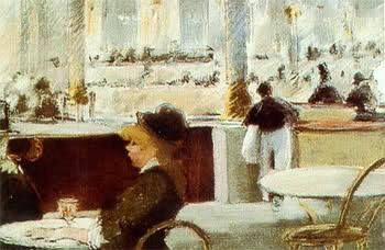 Manet, Un caffè in place du theatre francais