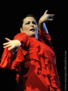 Reportage sur le 24ème Festival Arte Flamenco de Mont de Marsan. Maria del Mar Moreno - Jerez Puro - flamenco