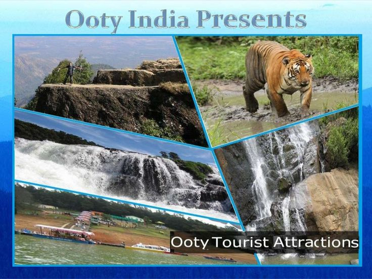 Top 10 tourist attraction in ooty India