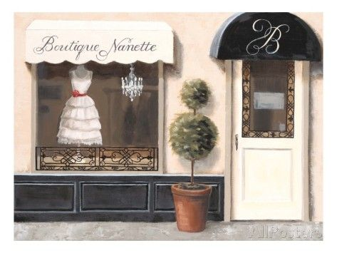 Boutique Nanette Giclee Print by Marco Fabiano at AllPosters.com