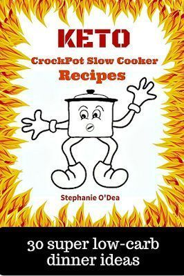30 keto friendly low carb slow cooker recipes. One for every day for the month -- lose weight the super simple way with dump and go crockpot recipes that are gluten free, low carb, and keto!