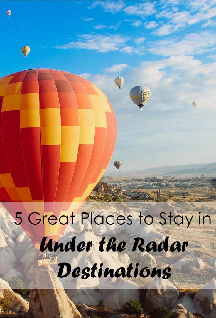 5 Great Places to Stay in Under the Radar Destinations - Travel - Wanderlust