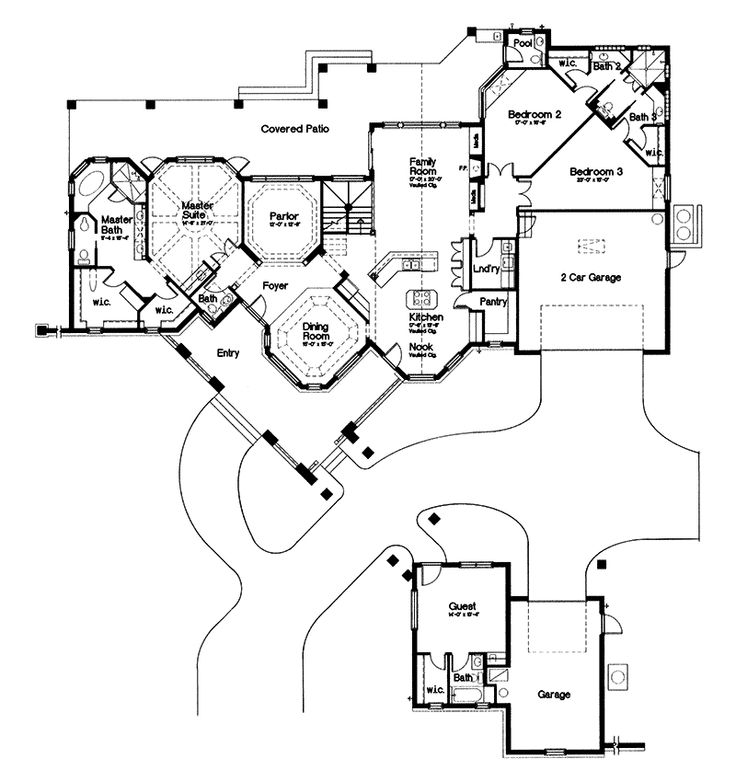 Home Plans With Guest House 25+ best french house plans ideas on pinterest | french country