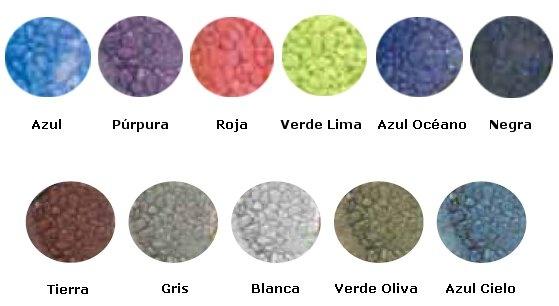Grava Decorativa de Colores MARINA para Fishbook