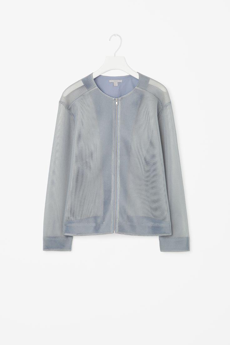 Technical mesh skirt