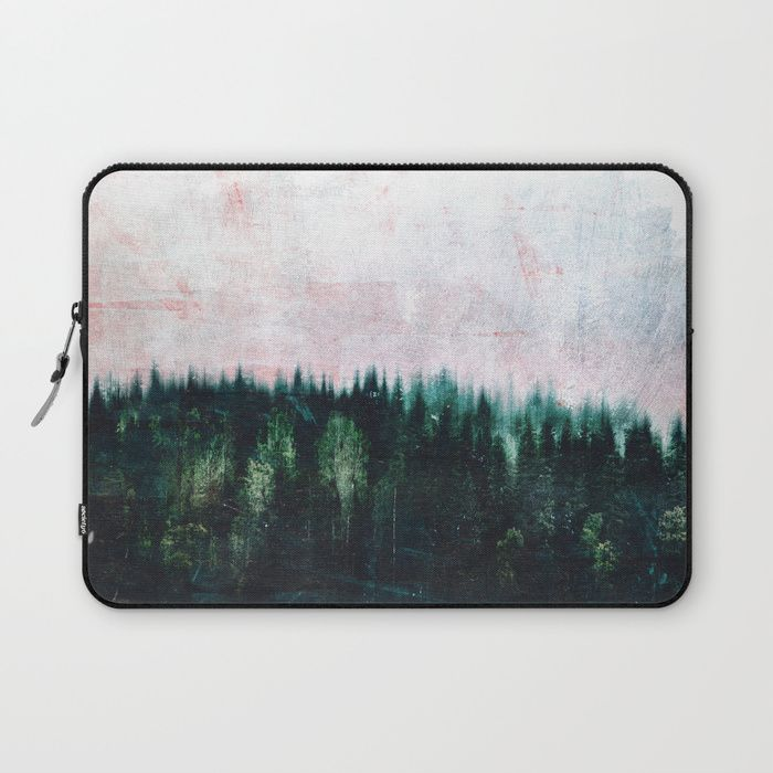 Deep dark forests Laptop Sleeve by HappyMelvin | Society6