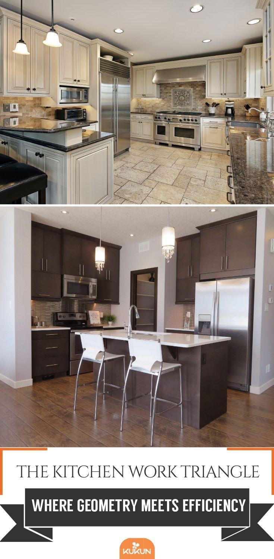 Kitchen work triangle Definition, benefits, and design ideas ...