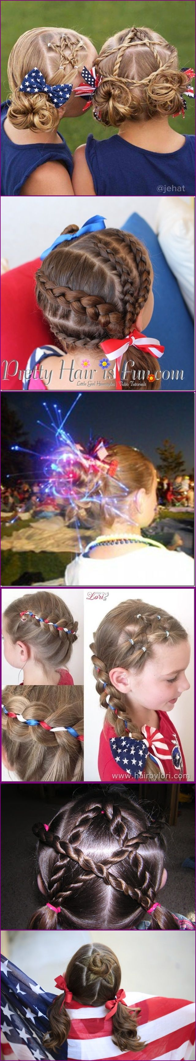50 best Fourth July Hairstyles images on Pinterest