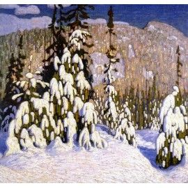 Lawren Harris Winter Landscape