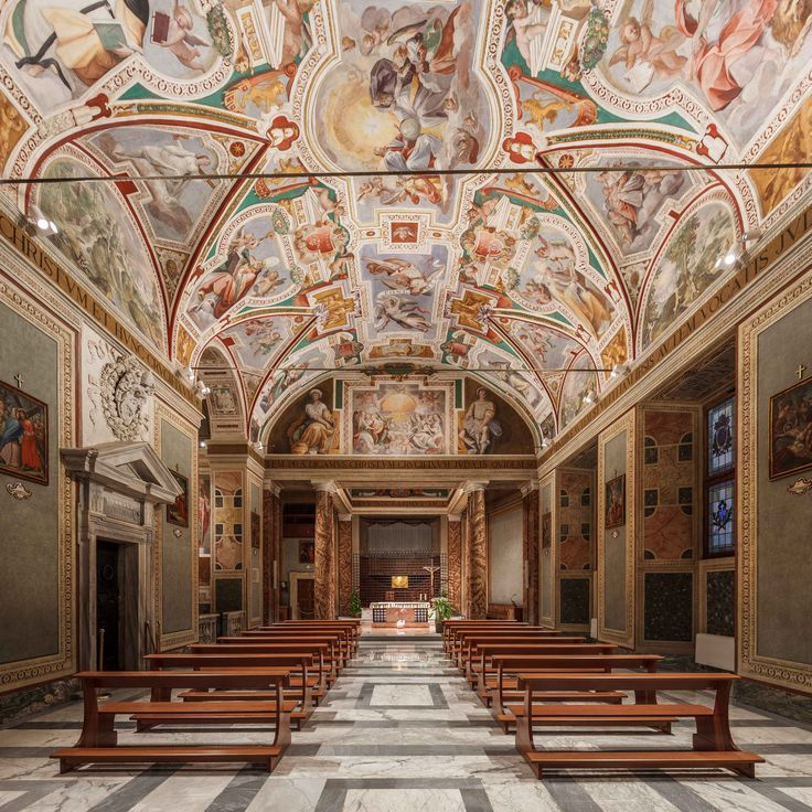 Chiesa di San Lorenzo in Palatio ad Sancta Sanctorum, Roma – Architect…