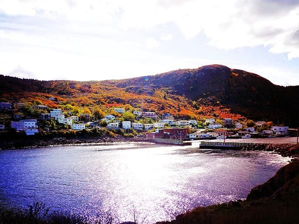 Autumn in Harbor Grace by Zinvolle - Colors in Harbor Grace, Newfoundland, Canada