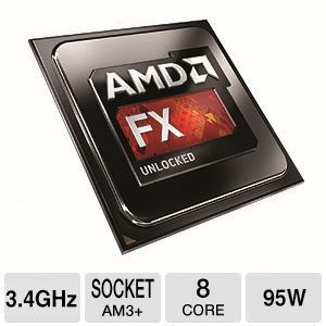 AMD FX-8310 3.4GHz Eight Core - TD 99.99 Would need CPU cooler.