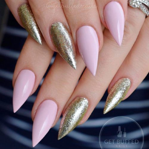 44 Stunning Designs For Stiletto Nails For A Daring New Look – nail art