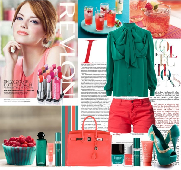 """""""Summer colours"""" by shaneeeee on Polyvore: Polyvore Summer, Colour Stories, Style Fashion Fave, Summer Style, Color, Casual Elegant, Fashion Style Outfits, Summer Colours, Colour Palettes"""