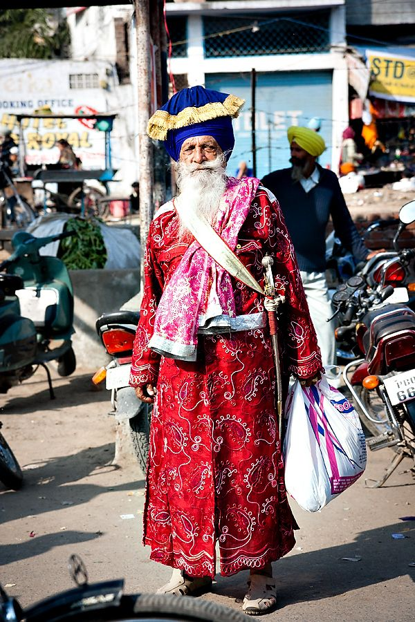 Sikh in Amritsar, India