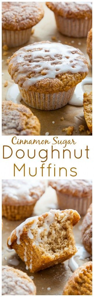 Fluffy Cinnamon Sugar Muffins pretending to be doughnuts! This easy, vegan recipe is perfect for breakfast, snack, or dessert. #vegan