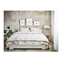 ASKVOLL Bed frame, white, Lönset - Full - Lönset - IKEA http://m.ikea.com/us/en/catalog/products/spr/89030503/