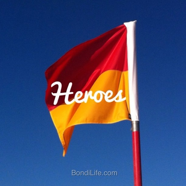 #Heroes a BondiLife homage to the surf lifesavers that protect the Aussie coastline #SLSC #surflifesaving