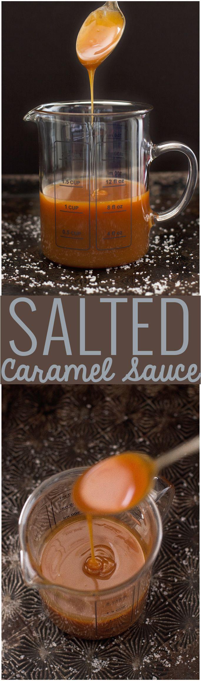 how to make soft caramel sauce